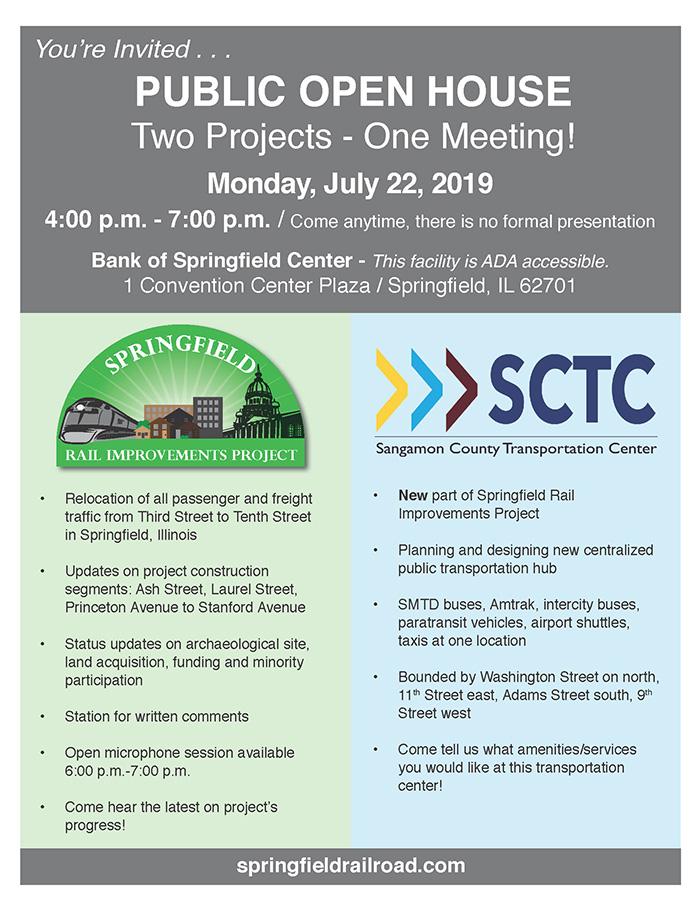 Springfield Rail Improvements Project - Springfield Rail